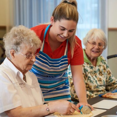 What to consider when selecting an aged care home